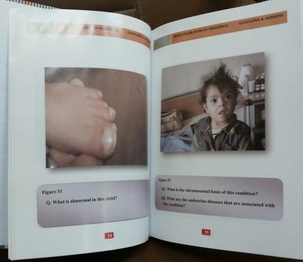 إصدار الطبعة الأولى من كتاب (الاطلس العراقي الملون في طب الأطفال أسئلة وأجوبة)
