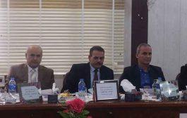 (أ.د. عدنان وحيد البديري) يترأس لجنة مناقشة طالبة دكتوراه في جامعة البصرة