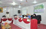 مناقشة رسالة طالبة الدبلوم العالي / طب الأسرة (نور خالد محمد)