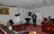 (أ.د. محمد موجر الشمسي) و (م.د. أحمد عبد الأمير) يقيمان ندوة علمية حول (سلس البول عند الأطفال)