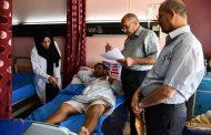 فرع الجراحة يجري امتحان نهاية الكورس العملي لطلبة المرحلة السادسة