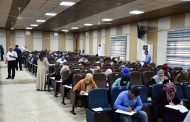 كلية الطب تجري الامتحان التنافسي للطلبة المتقدمين للدراسات العليا في الكلية