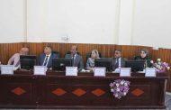 (أ.م.د. ليث محمد عباس) يشارك في مناقشة أطروحة دكتوراه في جامعة بغداد