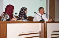 السيد عميد الكلية المحترم (أ.د. عقيل رحيم البرقعاوي) يلتقي تدريسيي الكلية لمناقشة عدد من التوجيهات