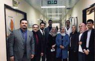 (أ.د. فرقان مجيد حميد) تشارك في مناقشة بحوث طلبة المجلس العربي لطب وجراحة العيون في مستشفى ابن الهيثم للعيون في بغداد