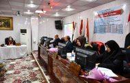 مناقشة رسالة طالبة الدراسات العليا / الماجستير / الاحياء المجهرية (سميرة رشيد غدير)