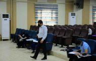 كلية الطب تجري امتحانات زمالة المجلس الدولي لطب وجراحة العيون (كامبردج ICO)