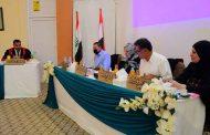 مناقشة رسالة طالب الدراسات العليا / الماجستير / الأحياء المجهرية (سيف علي عبد المجيد)